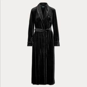 RL velvet bath robe